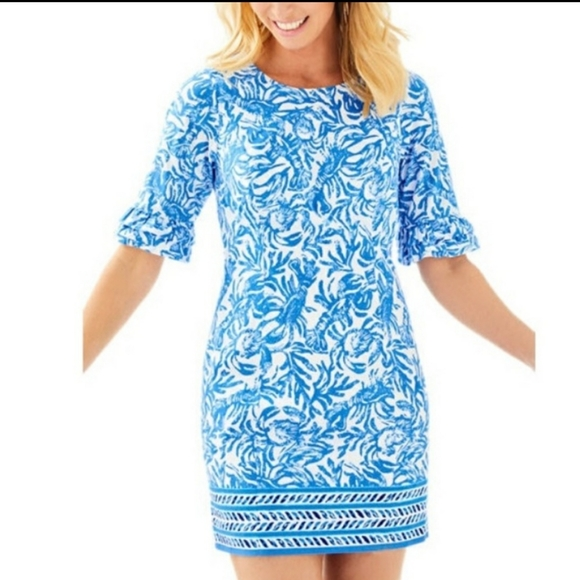 Lilly Pulitzer Dresses & Skirts - Lilly Pulitzer Fiesta Stretch Dress Size 4